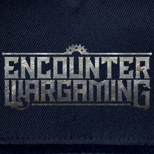 Encounter Wargaming Logo Baseball Cap - Snapback Baseball Cap