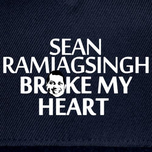 Sean Ramjagsingh Broke My Heart - Snapback Baseball Cap