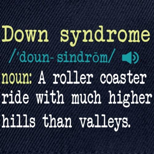 Down syndrome Definition - Snapback Baseball Cap