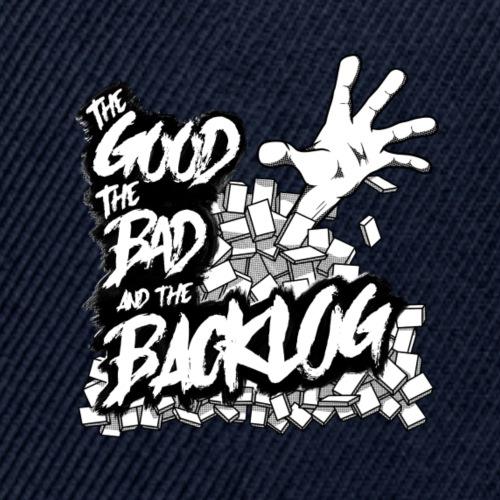 Good, Bad, Backlog - OG Logo white text - Snap-back Baseball Cap