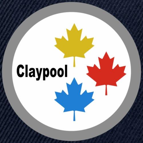 Claypool Maple Leaf Logo - Snapback Baseball Cap