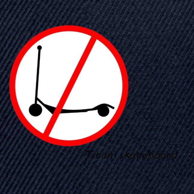 No scooter logo