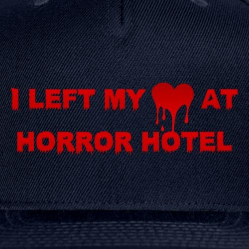 I Left My Heart at Horror Hotel - Snapback Baseball Cap