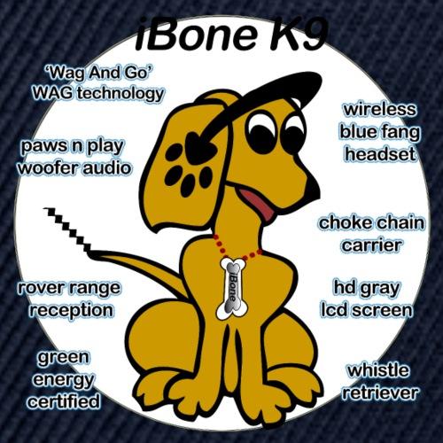 iBone-K9 - Snapback Baseball Cap