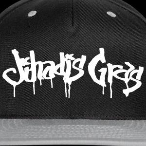 JihadisGras Logo (White) Vector - Snap-back Baseball Cap