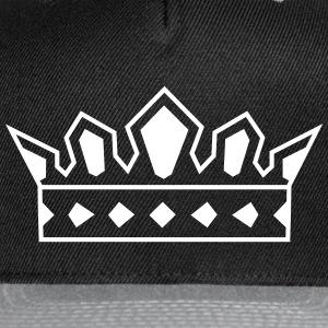 Crown Logo Hat - Snap-back Baseball Cap
