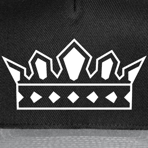 Crown Logo Hat - Snap-back Baseball Cap