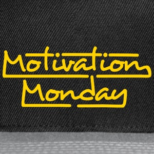 Motivation Monday - Snap-back Baseball Cap