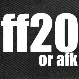 ff20 or afk - Snap-back Baseball Cap