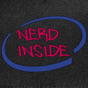 Nerd Inside - Snap-back Baseball Cap
