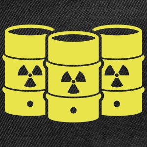Nuclear waste - say no! - Snap-back Baseball Cap