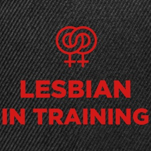 Lesbian in training - Snap-back Baseball Cap