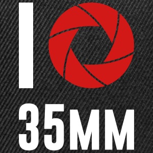 I love 35mm Camera Hobby Film Photography - Snap-back Baseball Cap