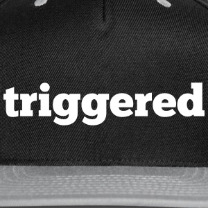 Triggered: Official logo of the Youtube Channel - Snap-back Baseball Cap