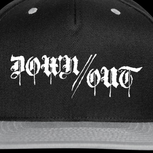 Down//Out Logo - Snap-back Baseball Cap