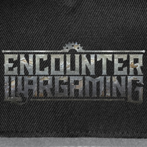 Encounter Wargaming Logo Baseball Cap - Snap-back Baseball Cap