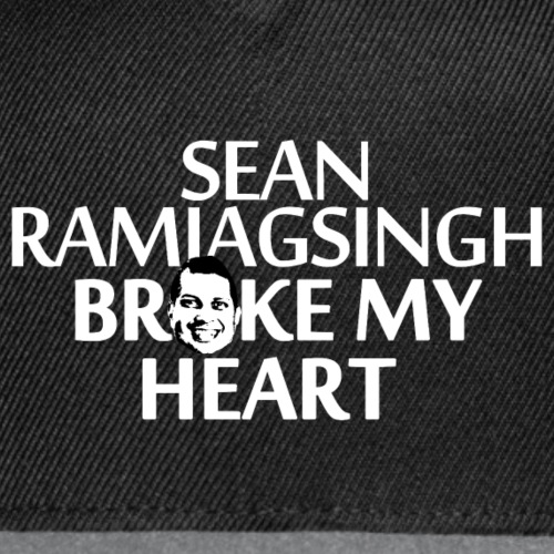 Sean Ramjagsingh Broke My Heart - Snap-back Baseball Cap