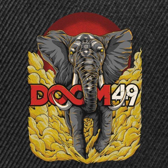 Yellow Smoke Elephant by DooM49