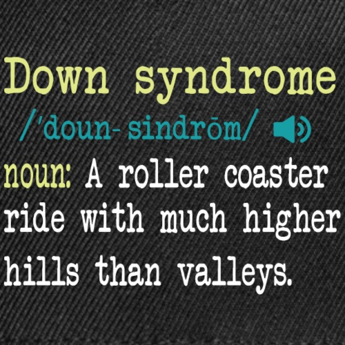 Down syndrome Definition - Snap-back Baseball Cap