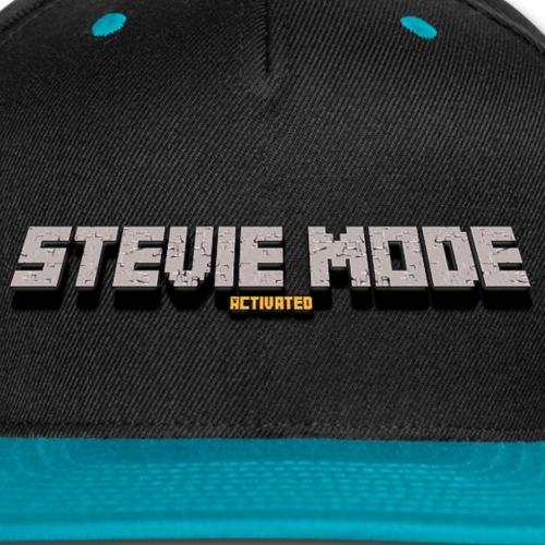 Stevie Mode Activated Merch Logo - Snap-back Baseball Cap