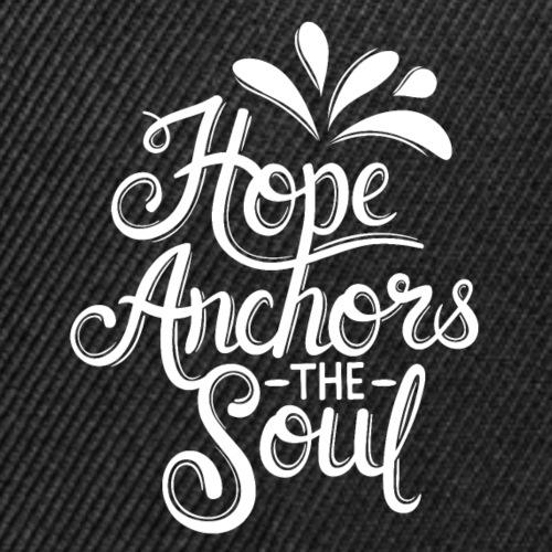 Hope Anchors The Soul - Snap-back Baseball Cap