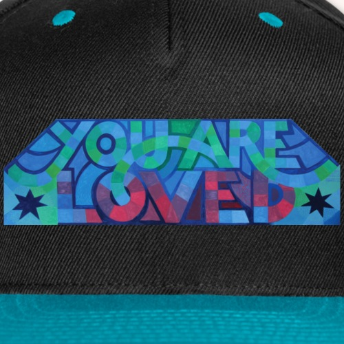 YOU ARE LOVED - 2 Stars - Snap-back Baseball Cap