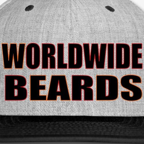 Worldwide Beards - Snap-back Baseball Cap