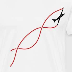 glider soar plane FOX - Men's Premium T-Shirt