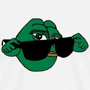 Pepe the Frog Sunglasses Obey - Men's Premium T-Shirt