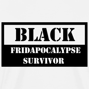 Black Fridapocalypse Survivor - Men's Premium T-Shirt