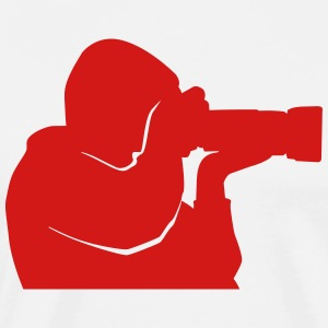 Photographer Logo - Paprazzi - Paparazzo - Men's Premium T-Shirt