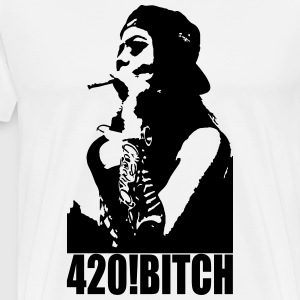 420 ! Bitch - Men's Premium T-Shirt