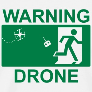 Exit Warning Drone - Men's Premium T-Shirt