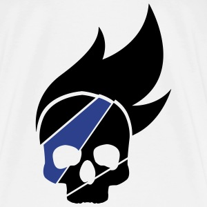 Skull Blue - Men's Premium T-Shirt