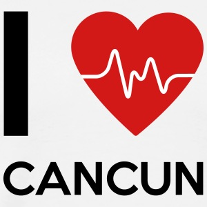 I Love Cancun - Men's Premium T-Shirt