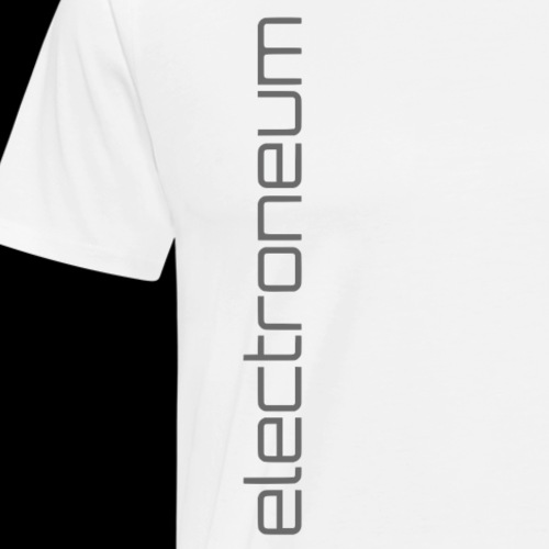 Electroneum Text - Men's Premium T-Shirt