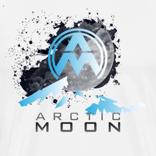 Arctic Moon Design 3 - Men's Premium T-Shirt