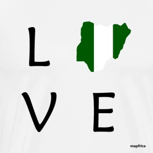 Nigeria Love - Men's Premium T-Shirt