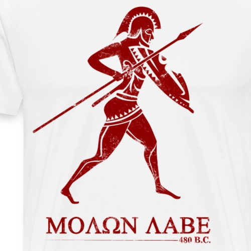 Molon Labe 480 BC - Men's Premium T-Shirt