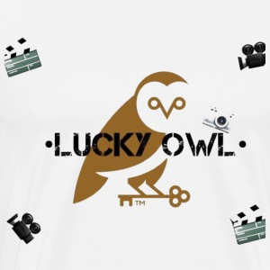Lucky Owl - Men's Premium T-Shirt