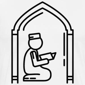 Reciting Quran Tee - Men's Premium T-Shirt