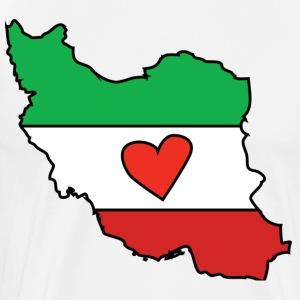 Iran Love - Men's Premium T-Shirt