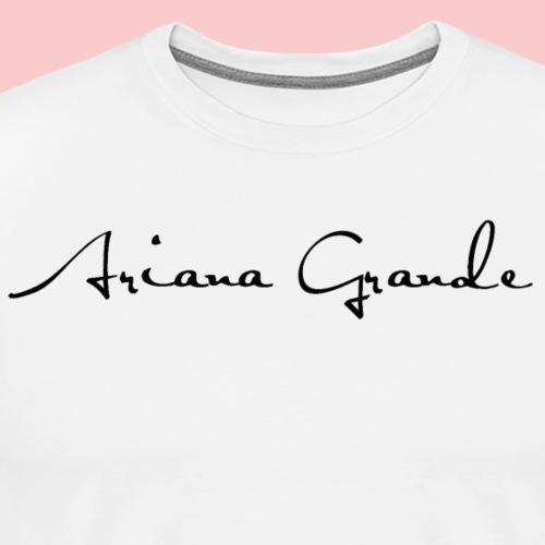 Ariana Grande - Men's Premium T-Shirt