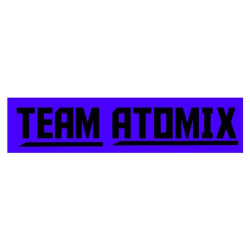 Team Atomic Black With Purple Box - Men's Premium T-Shirt
