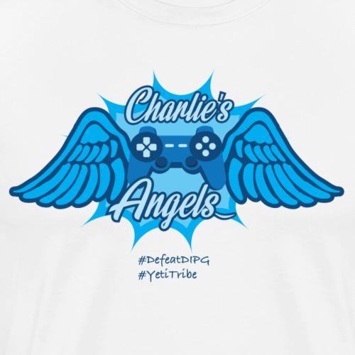 Charlie's Angels : Defeat DIPG - Men's Premium T-Shirt