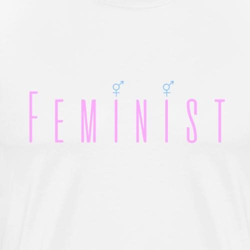 Feminist Pink - Men's Premium T-Shirt