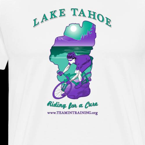 Bike Lake Tahoe - Men's Premium T-Shirt