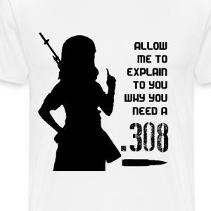 .308 Fangirl - Men's Premium T-Shirt