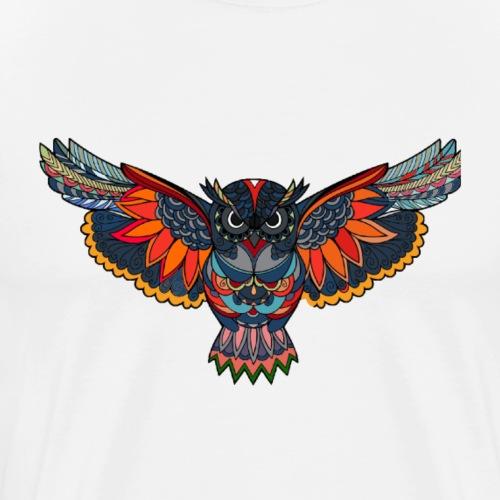 SPECTRUM PREMIUM GLORY IF THE OWLS DESIGN - Men's Premium T-Shirt