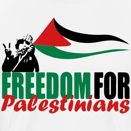 Freedom for Palestinians - Men's Premium T-Shirt